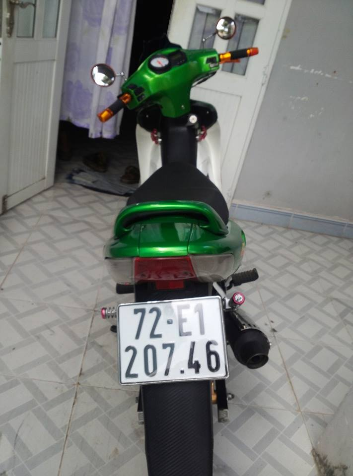 Suzuki FX do dep voi phong cach xanh Kawa - 11