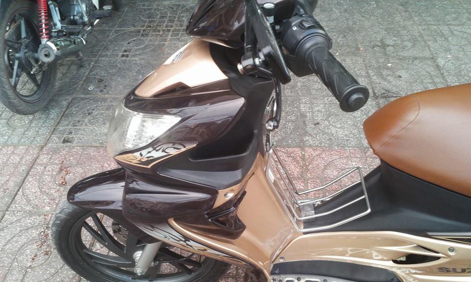 Suzuki hayate mau Vang Den dky 2012 moi odo duoc 7000km moi 99 - 8