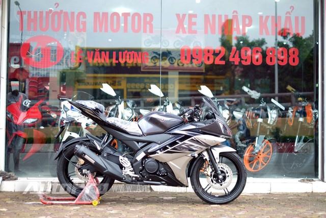 Vua ve toi Viet Nam Yamaha R15 da khong con hang de ban