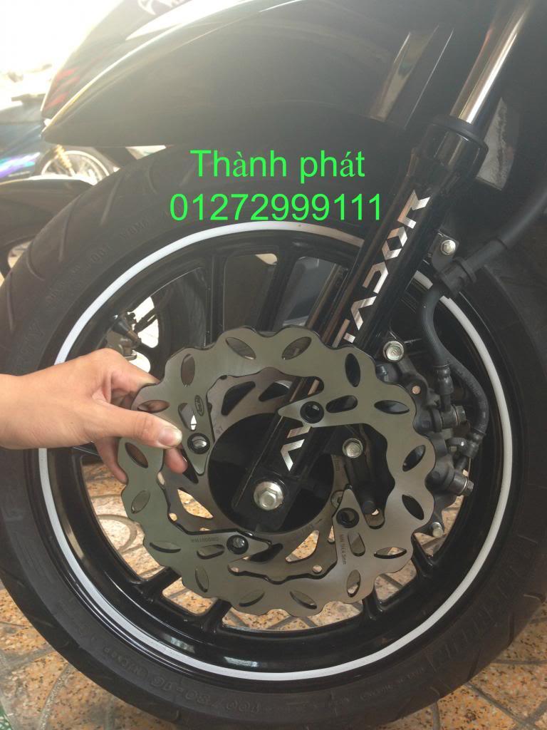 Dia kieu Thai dia Phay CNC YA Z CBR Biker Galfer ARASHI MegaPro Malossi Breaking NCY Ap - 24