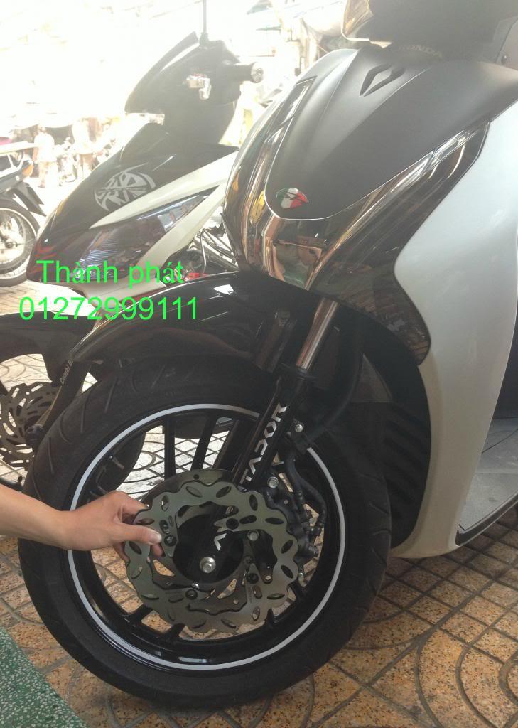 Dia kieu Thai dia Phay CNC YA Z CBR Biker Galfer ARASHI MegaPro Malossi Breaking NCY Ap - 25