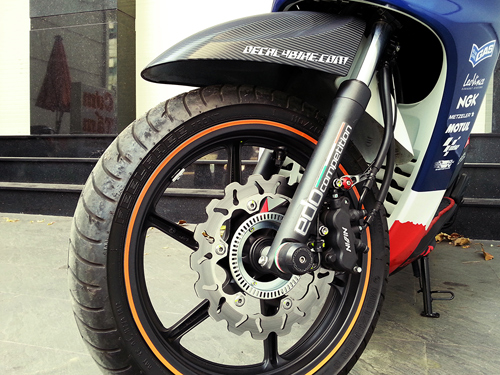 Dia kieu Thai dia Phay CNC YA Z CBR Biker Galfer ARASHI MegaPro Malossi Breaking NCY Ap - 32