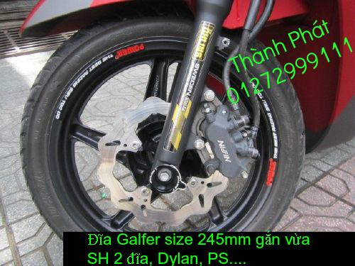 Dia kieu Thai dia Phay CNC YA Z CBR Biker Galfer ARASHI MegaPro Malossi Breaking NCY Ap - 34