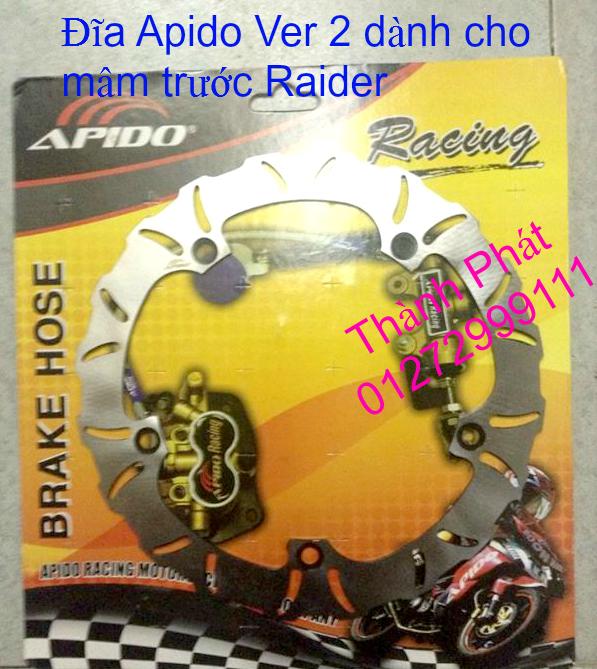 Dia kieu Thai dia Phay CNC YA Z CBR Biker Galfer ARASHI MegaPro Malossi Breaking NCY Ap - 35