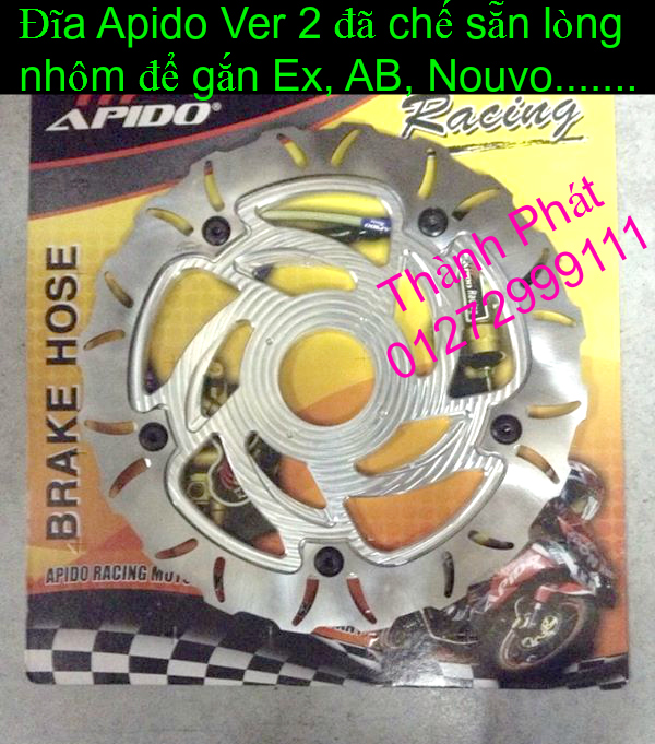 Dia kieu Thai dia Phay CNC YA Z CBR Biker Galfer ARASHI MegaPro Malossi Breaking NCY Ap - 36
