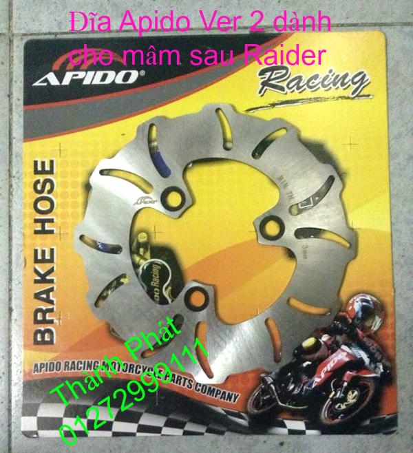 Dia kieu Thai dia Phay CNC YA Z CBR Biker Galfer ARASHI MegaPro Malossi Breaking NCY Ap - 37