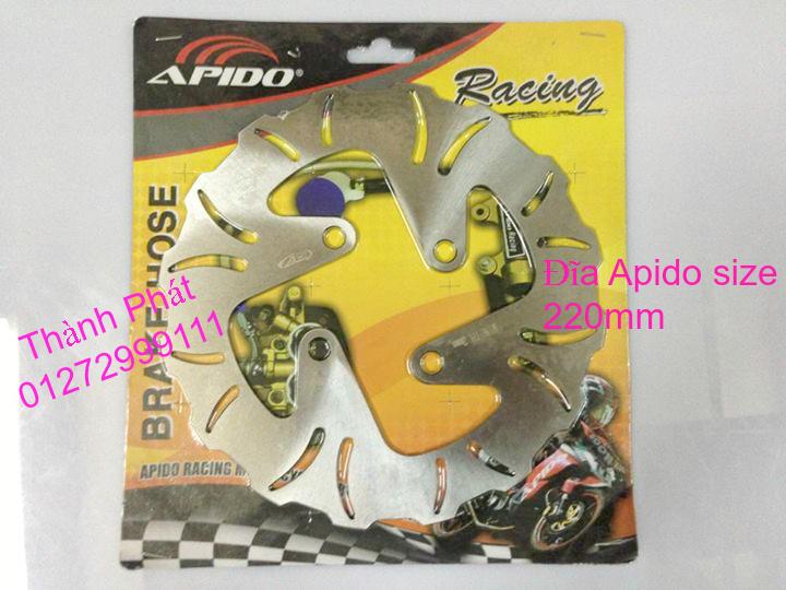 Dia kieu Thai dia Phay CNC YA Z CBR Biker Galfer ARASHI MegaPro Malossi Breaking NCY Ap - 43