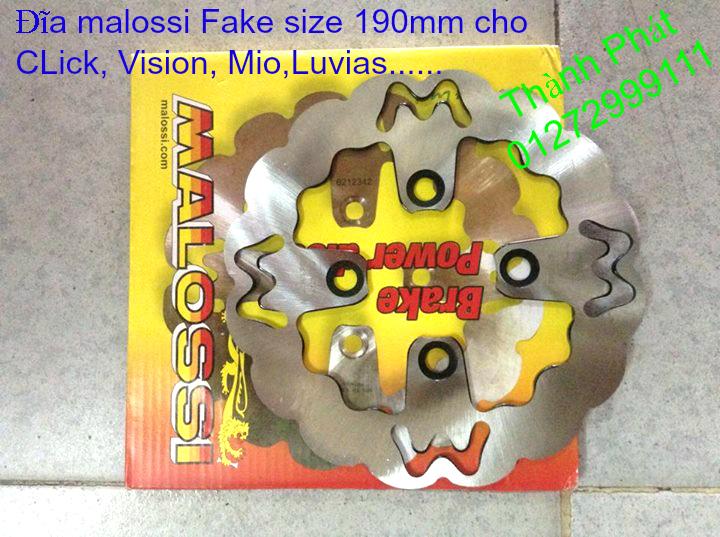 Dia kieu Thai dia Phay CNC YA Z CBR Biker Galfer ARASHI MegaPro Malossi Breaking NCY Ap - 48