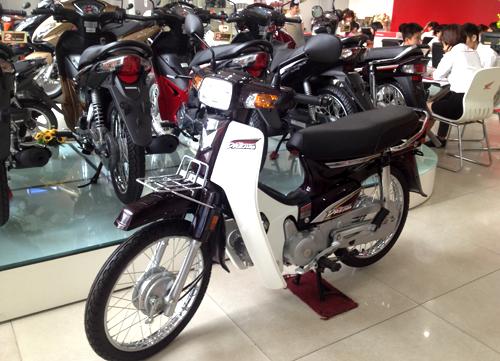 Honda Super Dream 100 duoc ban voi gia gan 30 trieu dong tai Ha Noi