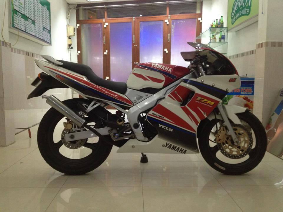 HOT cuc HOT Yamaha TZM 150cc may chay san Yaz