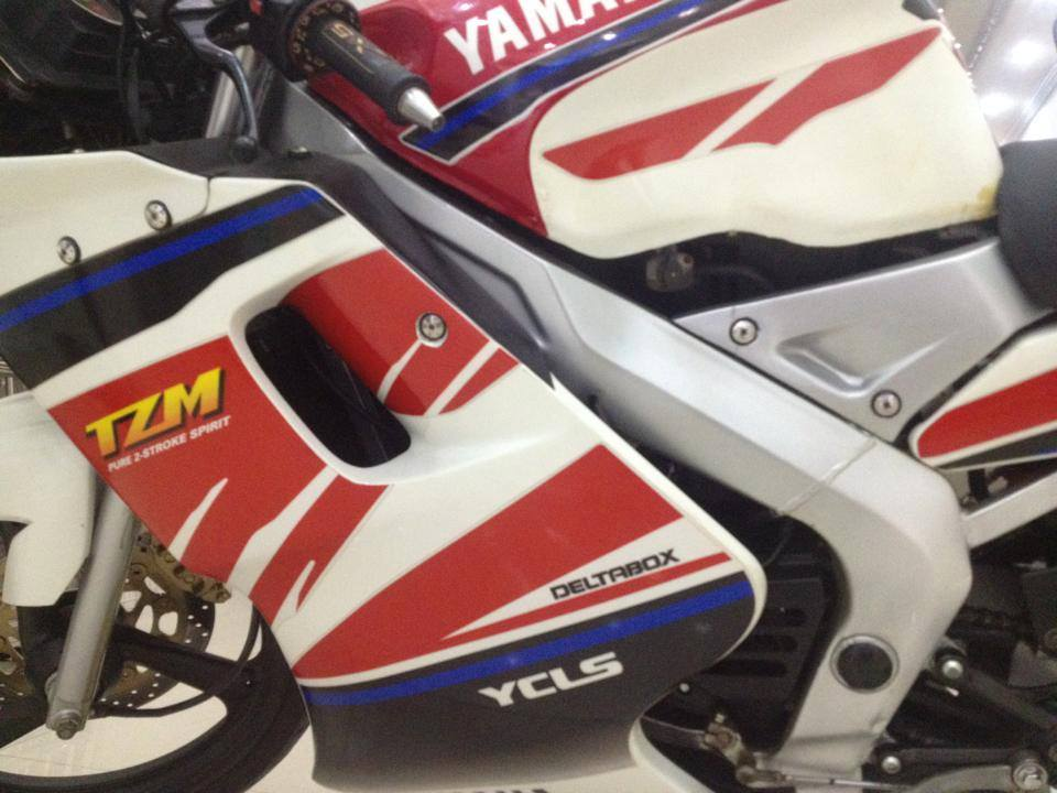 HOT cuc HOT Yamaha TZM 150cc may chay san Yaz - 4