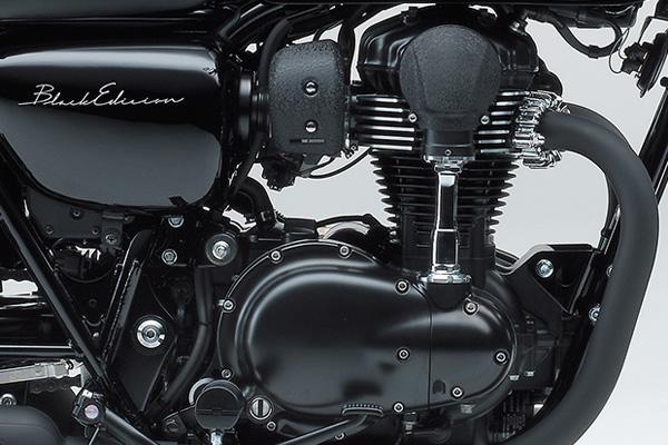 Kawasaki W800 Black Edition 2015 vua duoc cho ra mat - 6