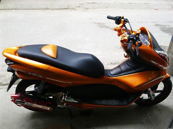 Choi chang voi chiec Honda PCX do cam le - 2