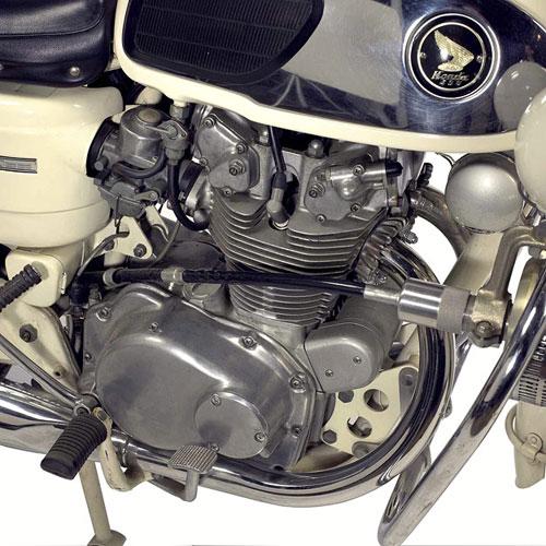 Honda CB450 Police Edition xe doc chi danh cho canh sat My - 3