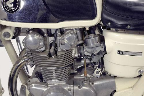 Honda CB450 Police Edition xe doc chi danh cho canh sat My - 4