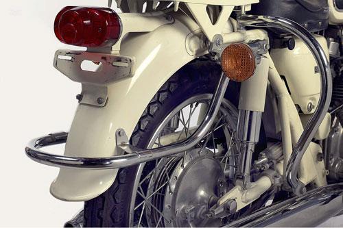 Honda CB450 Police Edition xe doc chi danh cho canh sat My - 5