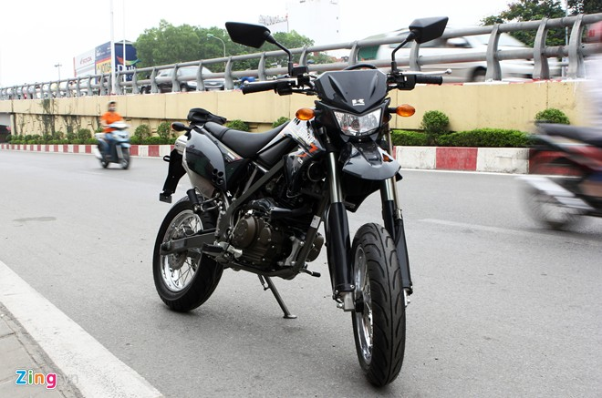 Kawasaki DTracker chiec xe cao cao duong pho tai Viet Nam
