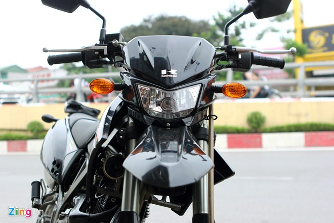 Kawasaki DTracker chiec xe cao cao duong pho tai Viet Nam - 3