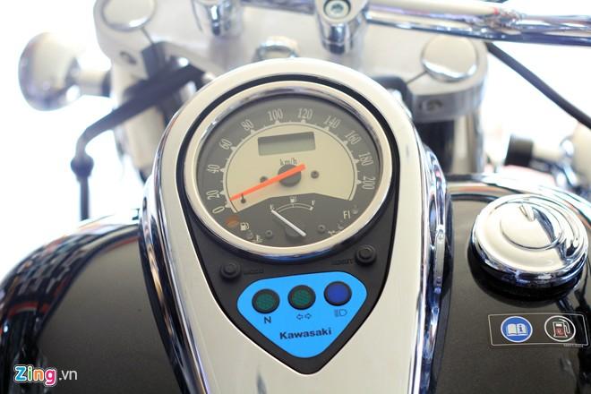 Kawasaki Vulcan 900 Classic 2014 xe khung voi gia hon 400 trieu dong tai VN - 8