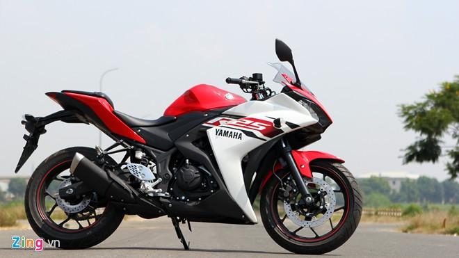 Tren yen Yamaha R25 chiec sportbike hoan hao cho nguoi moi choi - 2