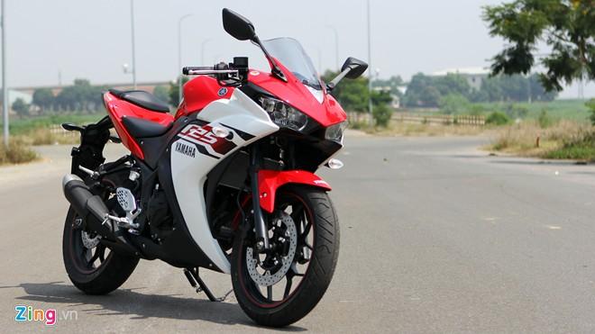 Tren yen Yamaha R25 chiec sportbike hoan hao cho nguoi moi choi - 3