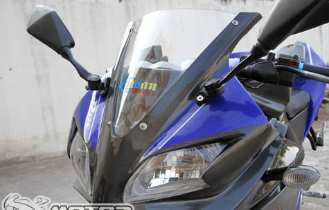 Yamaha FZ150i do ham ho thanh sportbike R125 - 3