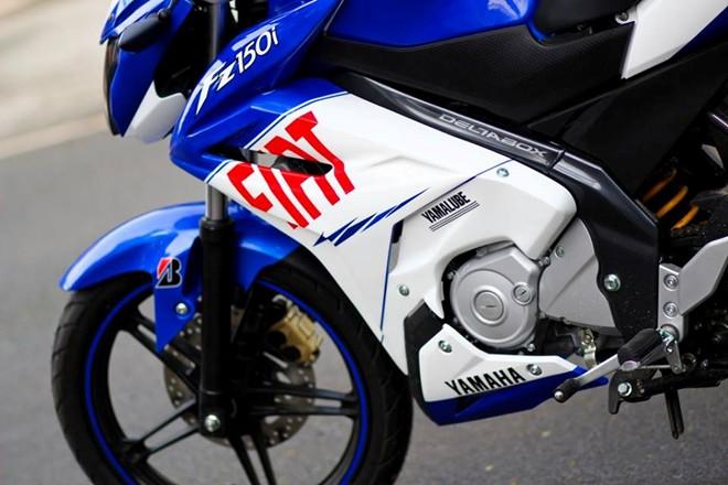 Yamaha FZ150i do la mat voi phien ban xanh Gp tai Sai Gon - 2