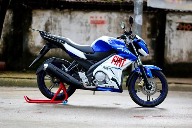 Yamaha FZ150i do la mat voi phien ban xanh Gp tai Sai Gon - 4