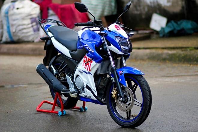 Yamaha FZ150i do la mat voi phien ban xanh Gp tai Sai Gon - 5