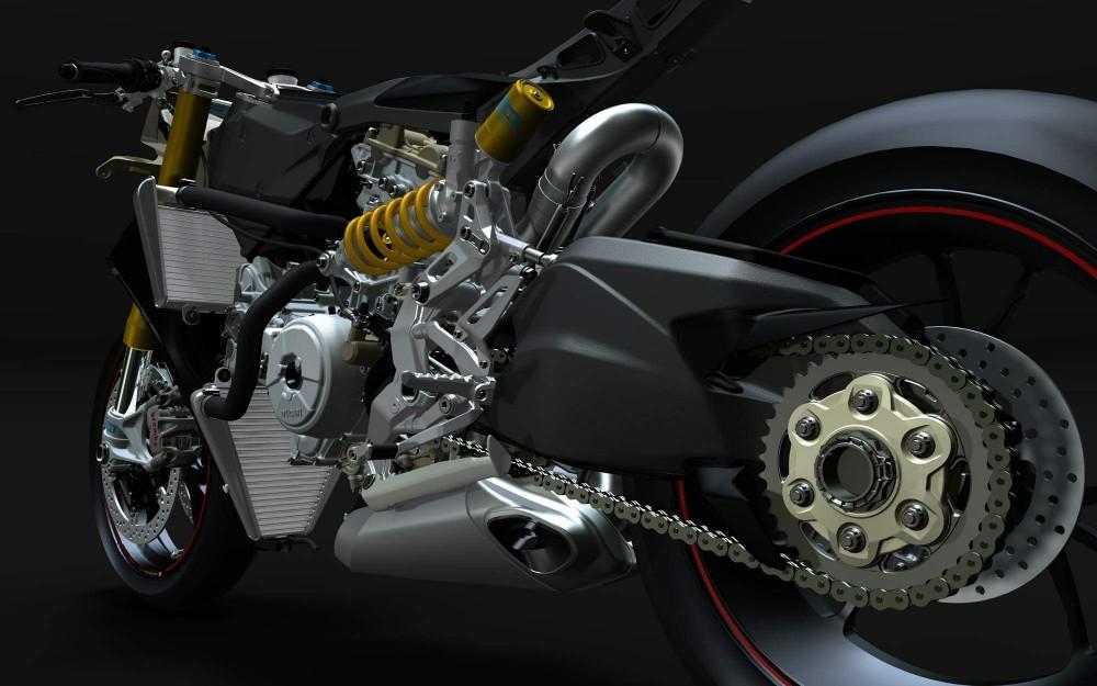 Ducati 1199 Panigale Sieu Motor thuong mai cung cai gia ngat nguong - 5