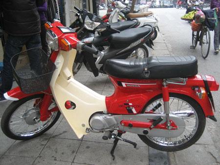 Honda DD do mau xe huyen thoai cua gioi Ha Thanh
