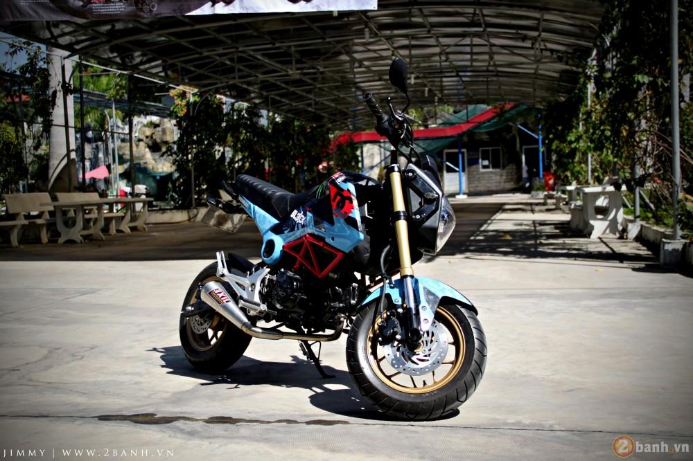 Honda MSX125 tem dau ca tinh trong dai hoi Exciter Binh Duong
