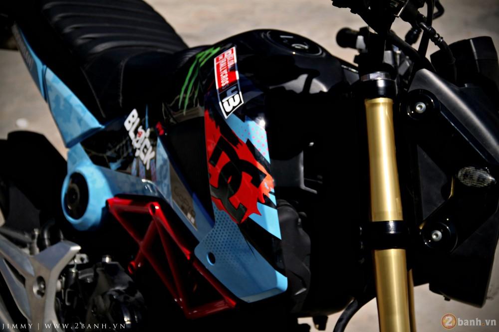 Honda MSX125 tem dau ca tinh trong dai hoi Exciter Binh Duong - 3