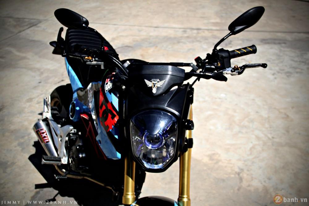 Honda MSX125 tem dau ca tinh trong dai hoi Exciter Binh Duong - 10