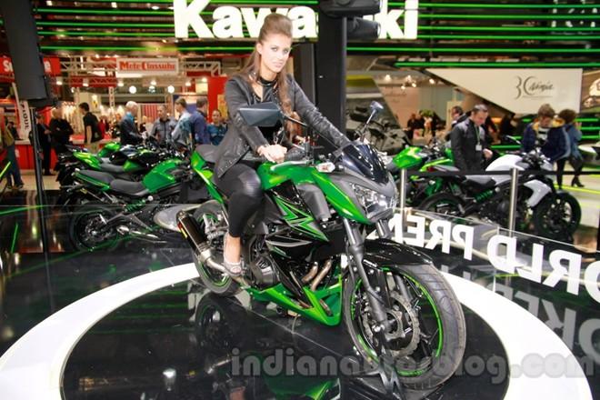 Kawasaki Z300 mau nakedbike hoan toan moi co gia 170 trieu dong