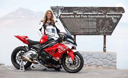 Nu biker noi bat nhat cua nam Valerie Thompson - 3
