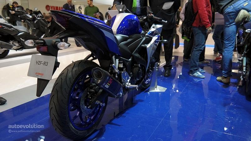 Yamaha YZFR3 chinh thuc ra mat tai EICMA 2014 - 2