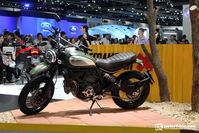 Dan xe moto do dang tai trien lam Motor Expo Thai Lan