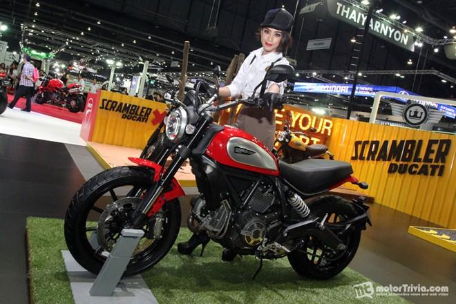 Dan xe moto do dang tai trien lam Motor Expo Thai Lan - 2