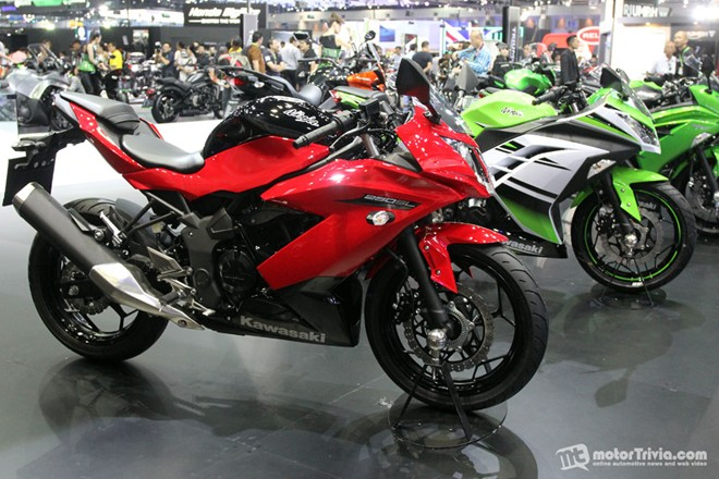 Dan xe moto do dang tai trien lam Motor Expo Thai Lan - 5