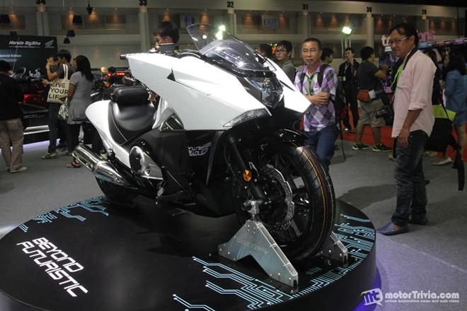 Dan xe moto do dang tai trien lam Motor Expo Thai Lan - 8