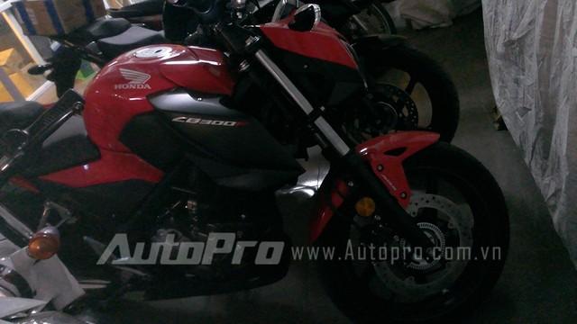 Honda CB300F dau tien tai Ha Noi Anh chi tiet - 4