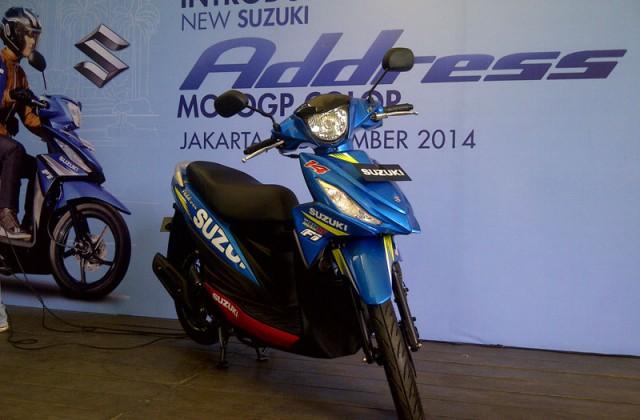 Suzuki ra mat mau xe tay ga moi co gia 25 trieu tai Indonesia - 2