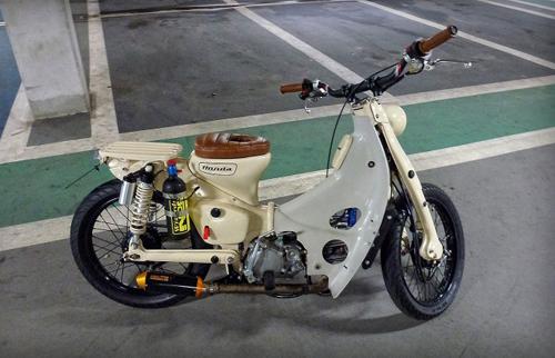 Honda Cub Dong co khung voi 24 ma luc - 3