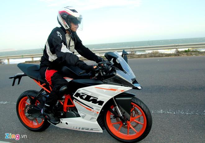 KTM RC390 Danh gia moto co nho cua KTM