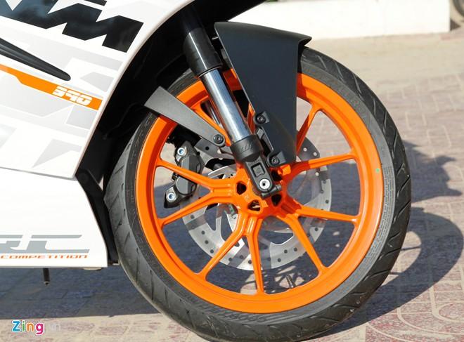 KTM RC390 Danh gia moto co nho cua KTM - 3
