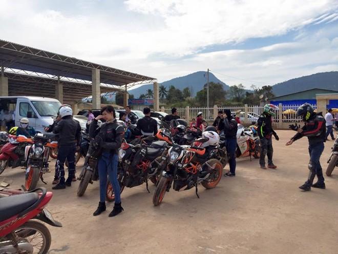 KTM Sai Gon Club kham pha mien Tay - 2