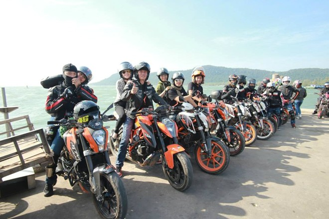 KTM Sai Gon Club kham pha mien Tay - 5