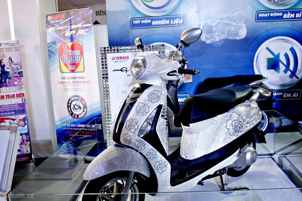 Yamaha Nozza Grande phien ban pha le Swarovski - 7