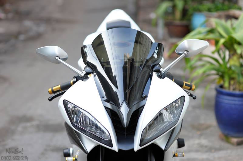 Yamaha R6 voi nhieu do choi khung cua Biker Sai Gon - 19